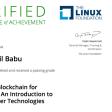 Blockchain - Hyperledger Certificate