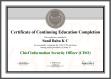 CISO Certificate