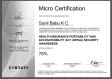 HIPPA Certificate