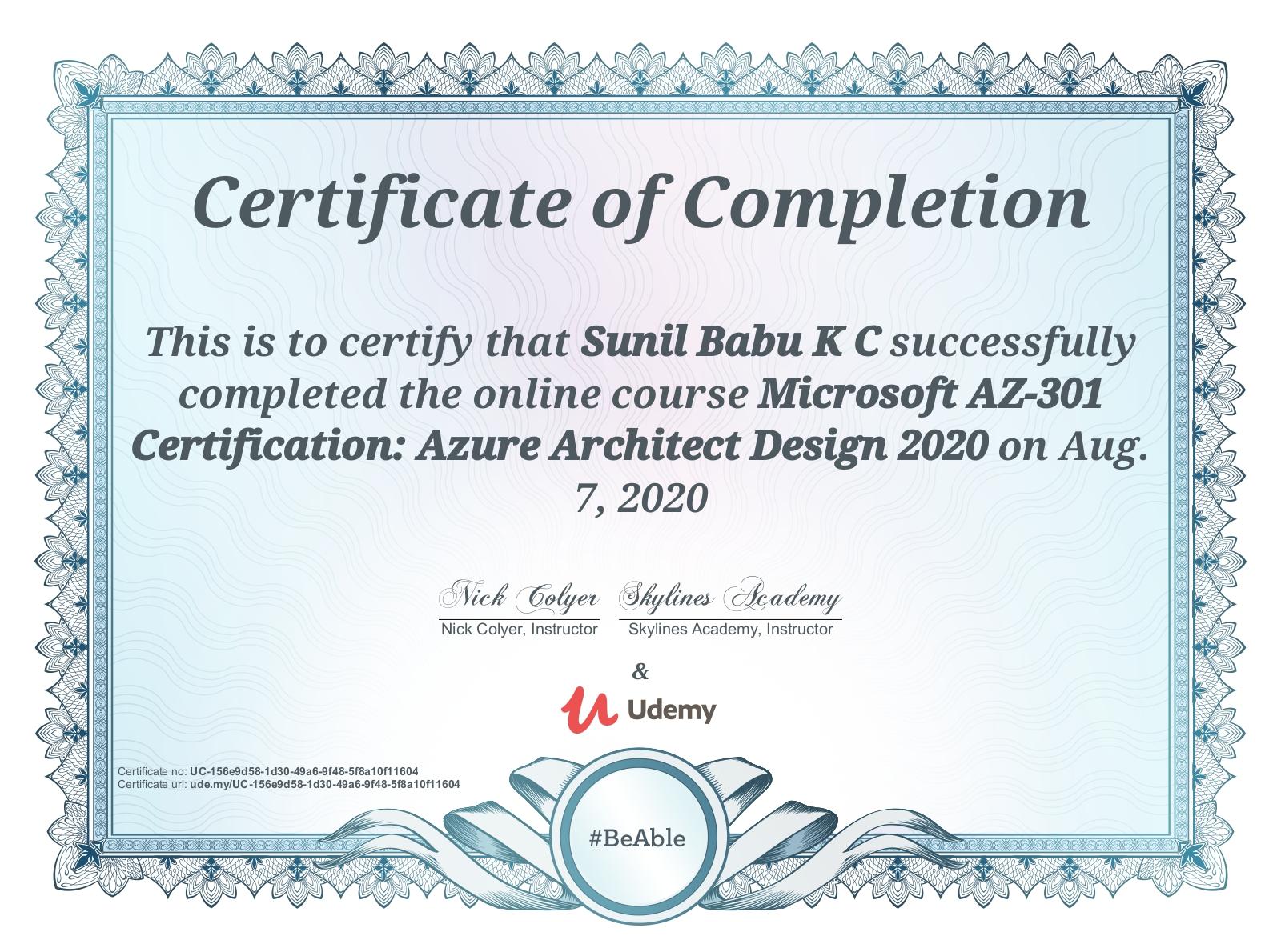 Azure Design Architect
